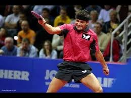 Best Table Tennis Player Table Tennis The Power Of Backhand Youtube