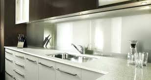 protection murale cuisine plaque de protection murale cuisine en verre inox carrelage ou