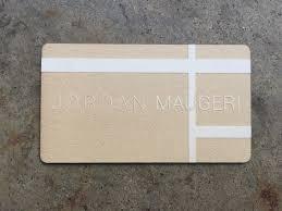 studio eq 50 black laser etched museum board business cards