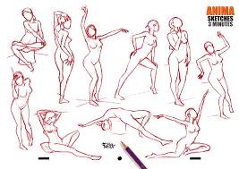anima sketchbook animation sketches 3 anatomy sketches