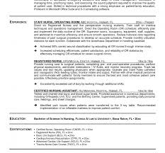 Operating Room Nurse Resume Sample by Surgical Nurse Resume Resume Cv Cover Letter Cover Letter Dear