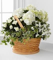 sympathy basket whispers of peace sympathy basket