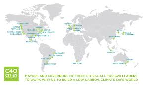 Mexico Climate Map by 30 Megacity Mayors Call Upon G20 For A Climate Safe World Huffpost