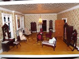 Dollhouse Dining Room Furniture by Late Victorian English Manor Dollhouse 1 12 Miniature From