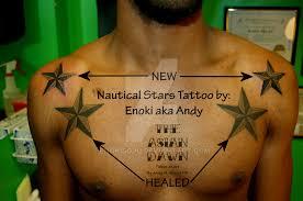 nautical star tattoo by enokisoju on deviantart