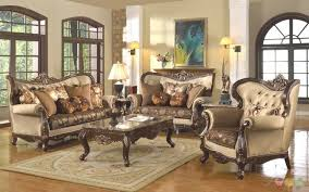 cheap livingroom set living room antique style traditional wing back formal living