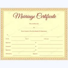 marriage certificate template easily editable in microsoft word