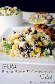 chilled black bean couscous salad kim u0027s cravings