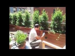 best custom wood planter boxes by nyplantings youtube