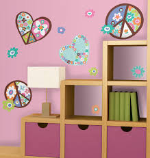 peace sign peel stick giant wall decal home home decor wall peace