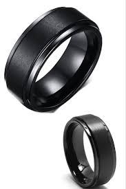 Black Wedding Ring by The 25 Best Titanium Wedding Bands Ideas On Pinterest Titanium