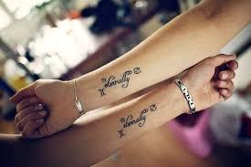 best friend tattoos ideas matching friendship tattoo symbols
