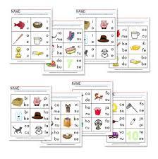 k4 vowel sounds u0026 beginning blend worksheets free excellent