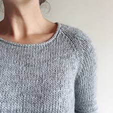 how to knit a sweater how to knit a simple neckline the craft sessions