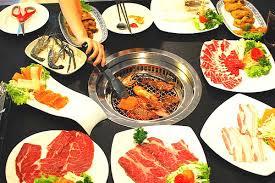 buffet pour cuisine ช ดอาหารบ ฟเฟ ต เกาหล หลากหลาย ร านkochujang buffet