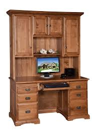 Amish Home Decor Remarkable Computer Desk And Hutch Stunning Home Decor Ideas With