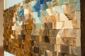 large wood sculpture custom wood wall large mosaic wood sculpture by