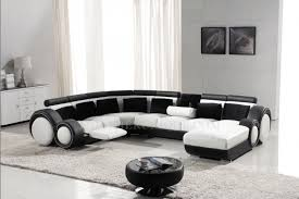 canapé avec repose pied canapé d angle panoramique en cuir avec reposepied intégré relax 1