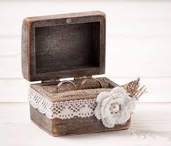 wedding rings in box boxes burlap pillows boxes wedding rings boxes engagement rings
