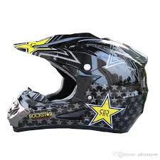 rockstar motocross helmet vcoros rockstar skull style motorcycle helmet atv dirt bike downhill