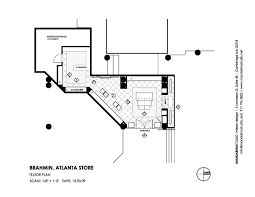 Studio Plan by Brahmin Atlanta Floor Plan Mandarina Studio Interior Design