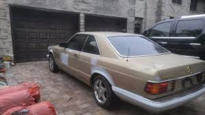1986 mercedes 560 sec mercedes 500 series coupe 1986 gold for sale