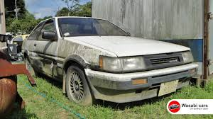 toyota corolla gt coupe ae86 for sale bombshell the toyota corolla ae86 levin gt apex rotating grille
