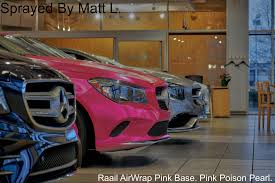 pink mercedes png pink poison