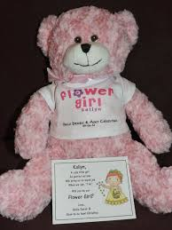 flower girl teddy gift best 25 asking flower girl ideas on xo liquor