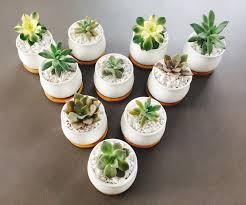 medium round ceramic wedding favour