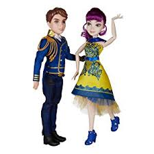 Mal Costume Amazon Com Disney Descendants Two Pack Ben Auradon Prep And Mal