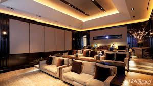 Home Theater Architecture Hollywood Homes L A Moguls Add Separate Home Theater Pavilions