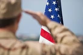 Military Funeral Flag Presentation Rules For Veterans Saluting In Civilian Clothes