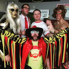 halloween wwe costumes wwe theme party at the hinton men u0027s bonspiel i think we pulled