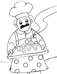 cook 57 jobs u2013 printable coloring pages