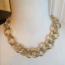 chunky link necklace images 99 off j crew jewelry j crew goldtone chunky anchor link jpg