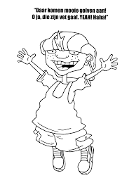 rocket power coloring pages coloringpages1001 com