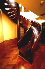 home design spiral staircase with slide for sale fireplace