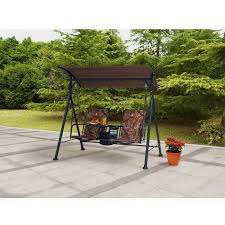 ozark trail big and tall 2 seat bungee swing walmart com