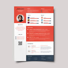 Awesome Resume Templates Free Material Design Resume Creativecrunk