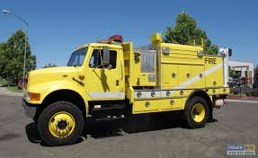 1990 international 4800 4x4 service rescue fire truck for sale