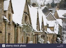 The Cotswolds Cottages by Medieval Cottages At Arlington Row In The Winter Bibury The