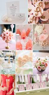 pink gold baby shower glamorous pink ivory and gold baby shower fiftyflowers the