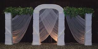wedding backdrop arch aminatta s arch this gorgeous wedding arch