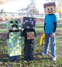 minecraft costumes diy minecraft creatures