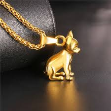 dog necklace pendant images Starlord chihuahuas dog necklace pendant collier stainless steel jpg