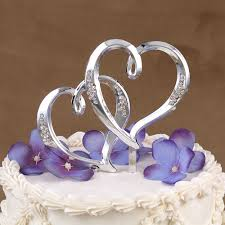 heart cake topper heart s bridal bargains