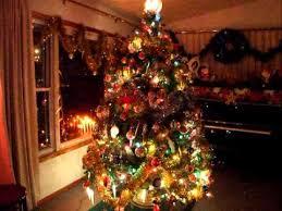 fashioned christmas tree fashioned christmas lights