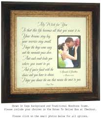 wedding anniversary frames autograph wedding picture frame