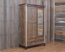 Vintage Armoire Cabin Inspired Vintage Collection Bedroom Back At The Ranch